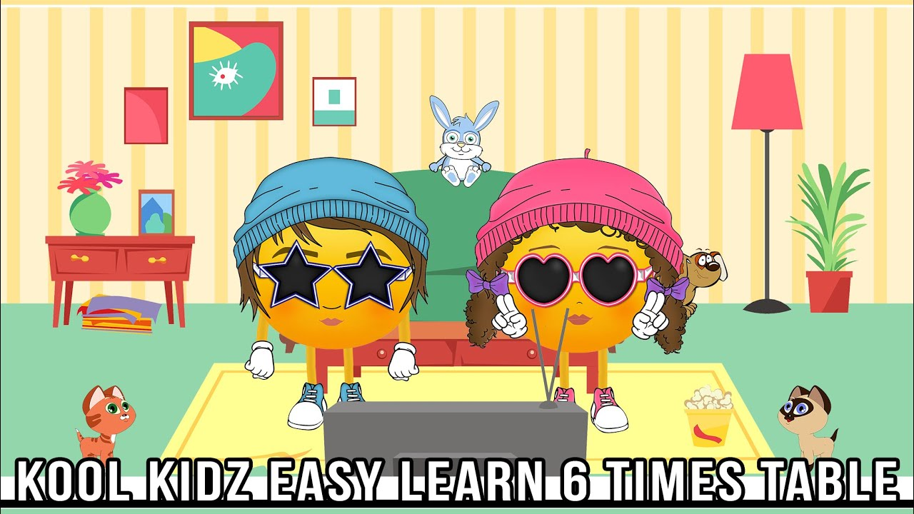 6 Times Tables  Have Fun Learning! Youtube