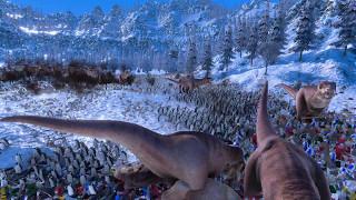 ULTIMATE EPIC BATTLE SIMULATOR !!! Ep 4 : LA REVOLTE DES PINGOUINS