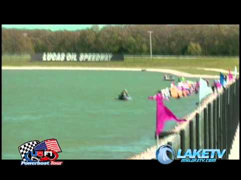 F1 national powerboat Race held at Lucas Oil Lake in Wheatland Missouri