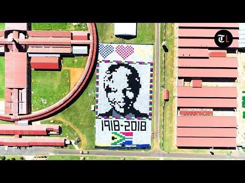Giant blanket to celebrate the life of Nelson Mandela