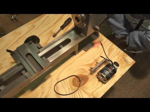 Sieg Mini lathe rebuild #12 brushless motor fit & test