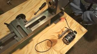 Sieg Mini lathe rebuild #12 brushless motor fit & test