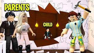 Child Was MISSING In WALLS.. I Had To Save Him! (Roblox)