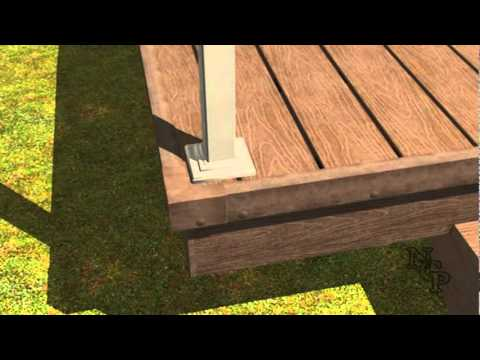 7 Composite Decking Installation Railings Youtube