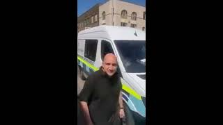 Scuffle Between British Immigration and African Immigrants On Rye Lane, Peckham