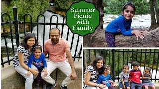 Vlog -  Belfountain Trip - Fun with kids/ Family - Hiking - Potluck - Indian NRI Family in Canada