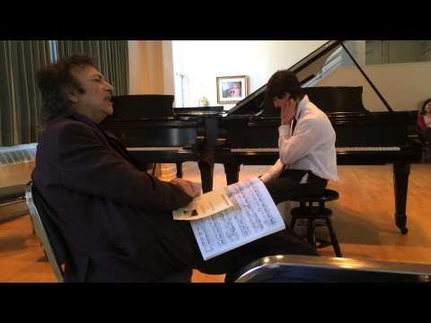 David Dubal #2 Master Class Reed Plays Rachmaninoff age 14