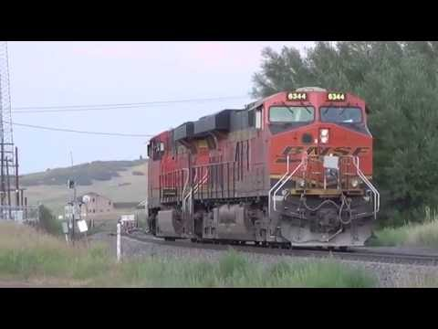 DPU Helpers disconnect in motion and an All ACe Coal train @ Palmer Lake