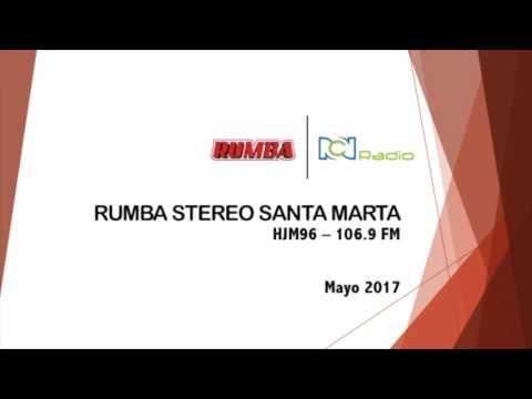 IDENTIFICACIÓN RUMBA STEREO SANTA MARTA 106.9 FM - MAYO 2017
