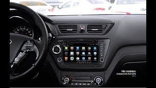 Asottu ZK28060 review 2 Allwinner T3 KIA RIO car dvd gps navigaiton