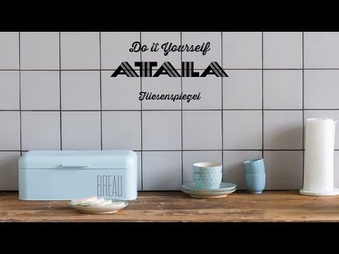 Fliesenspiegel selber kleben | ATALA Shop