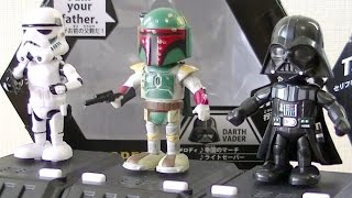 STAR WARS Space Opera Darth Vader Storm Trooper Boba Fett Unboxing Disney スターウォーズ ダースベイダー ストームトルーパー