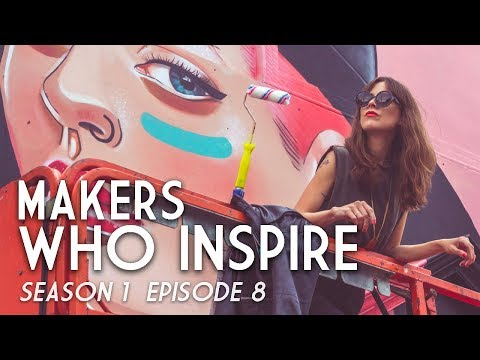 Lisa King  Mural Artist  MAKERS WHO INSPIRE