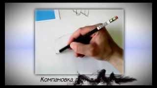 Видео презентация. Рисование руки.