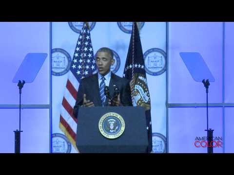 President Obama addresses the NAACP on Mass Incarceration