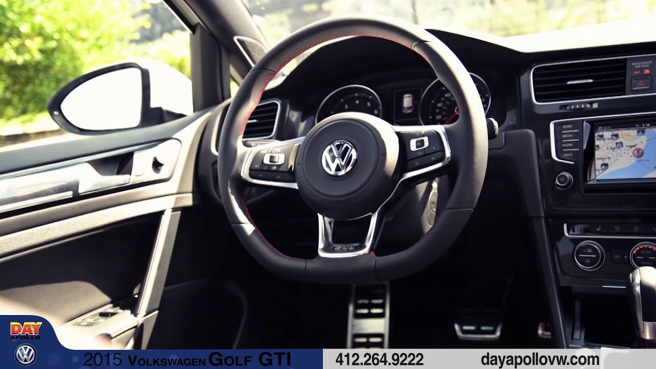 2015 Volkswagen Golf Gti At Day Apollo Vw In Moon Twp Youtube