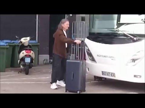 Roger Hodgson arrives @ Carré Amsterdam, The Netherlands