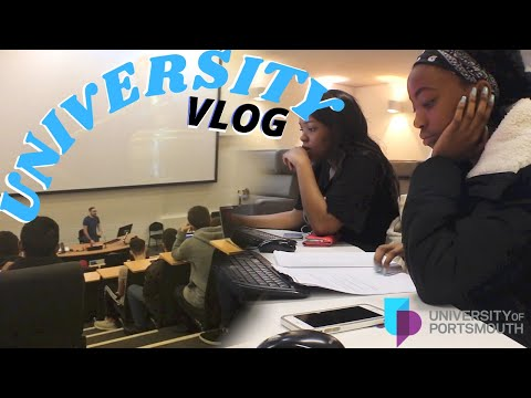 DAY IN THE LIFE VLOG | UNIVERSITY OF PORTSMOUTH