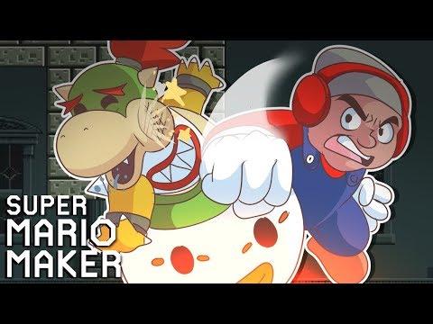 I NEVER HAD A PROBLEM WITH BOWSER JR. TILL TODAY!! [SUPER MARIO MAKER] [#134]