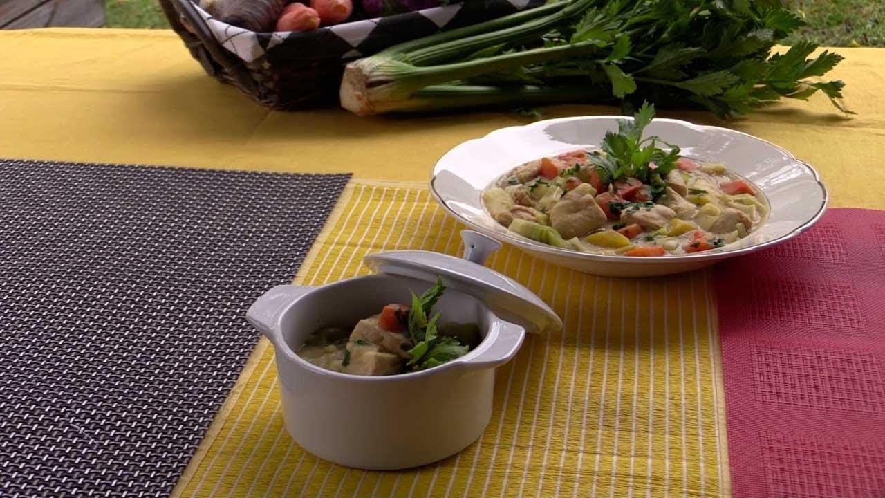 Waterzooi De Poulet Allege Recette Minceur Par Chef De Cuisine