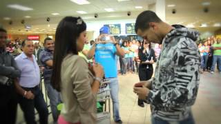 Flash mob Proposal at santo domingo airport [[ORIGINAL]]