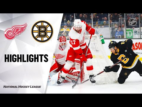 NHL Highlights | Bruins @ Red Wings 2/15/20