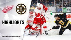 NHL Highlights   Bruins @ Red Wings 2/15/20
