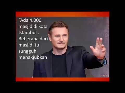 Artis Holywood Liam Neeson Mau Masuk Islam karena Adzan