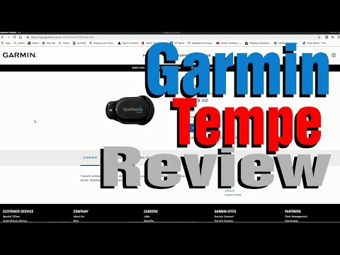 Garmin Tempe Review - A MUST WATCH Video If You're Considering Getting One