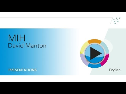 """Webinar """"Hypomineralised enamel (MIH) - coming to a child near you"""" - Dr. David Manton"""