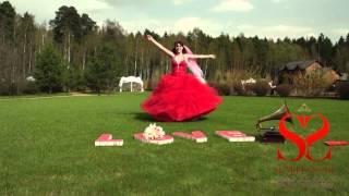 Видео-отзыв Максима и Алены, свадьба по мотивам повести «Алые паруса»