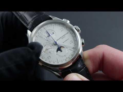 Baume & Mercier Clifton Chronograph Complete Calendar 10278 Functions & Care