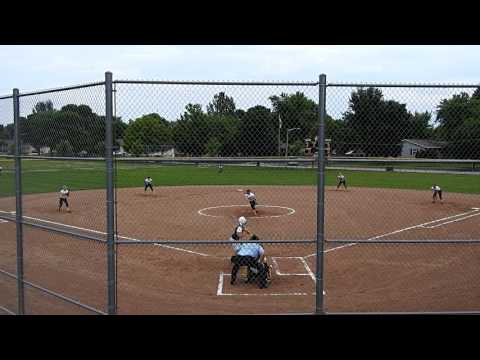 Ryann Sander of BelmondKlemme home run vs. BishopGarrigan