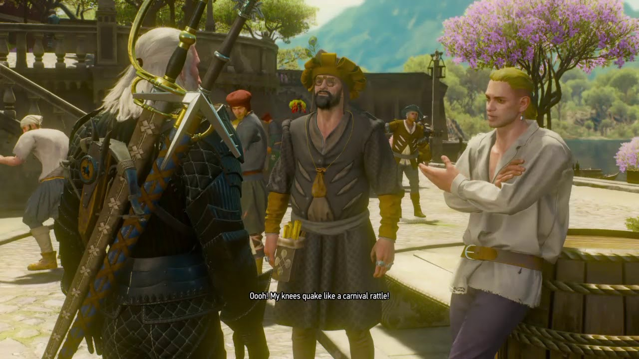 Where in Witcher3: BW secret secret uniforms are hidden 8