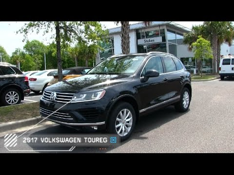 2017 Volkswagen Touareg V6 Sport W Technology Exterior Interior Walkaround Review