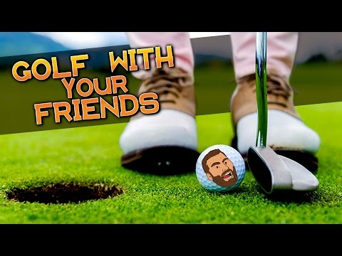 IS THIS GOLF? OMG!?!?! - Golf With Friends Funny Moments & FAILS