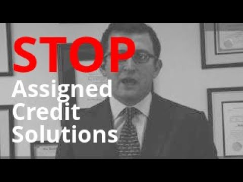 Assigned Credit Solutions Calling? | Debt Abuse + Harassment Lawyer