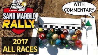 Marble Race: Sand Marble Rally 2017 - All Events!
