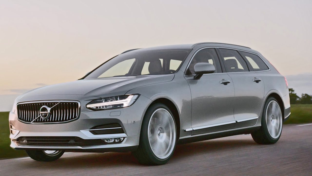 2017 Volvo V90 Premium Wagon Youtube