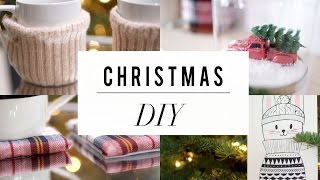 DIY Dollar Store Challenge | Christmas Decor | ANN LE