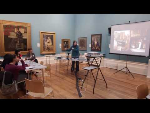 Museums, Artists and Collections event - Lyndall Phelps