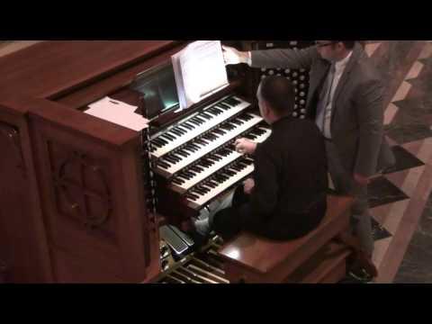 Gereon Krahforst - Moto Ostinato from Sunday music by Petr Eben