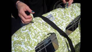 Itzy Ritzy's Ritzy Sitzy™ Shopping Cart & High Chair Cover.wmv