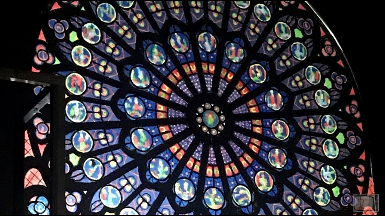 Recreating The North Rose Window Of Notre Dame