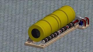 Компьютерная модель барабанного смесителя(Проект Анны Ус - ученицы 11 класса технического лицея, слушательницы кружка Механик кафедры горных машин..., 2016-10-05T09:32:46.000Z)