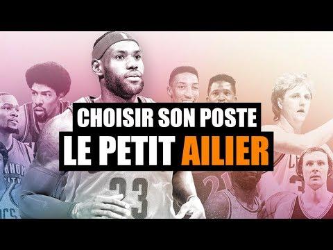 CHOISIR SON POSTE AU BASKET : L'AILIER (OU PETIT AILIER)