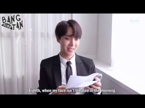 [ENG] 180613 [2018 FESTA] BTS (방탄소년단) 'Small but Definite Happiness List' - j-hope
