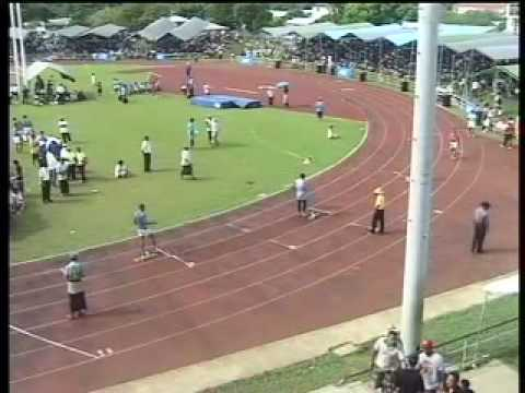 Tonga Inter-College 2008 Sports Competition - Senior & Open Boys 400m Hurdles Final