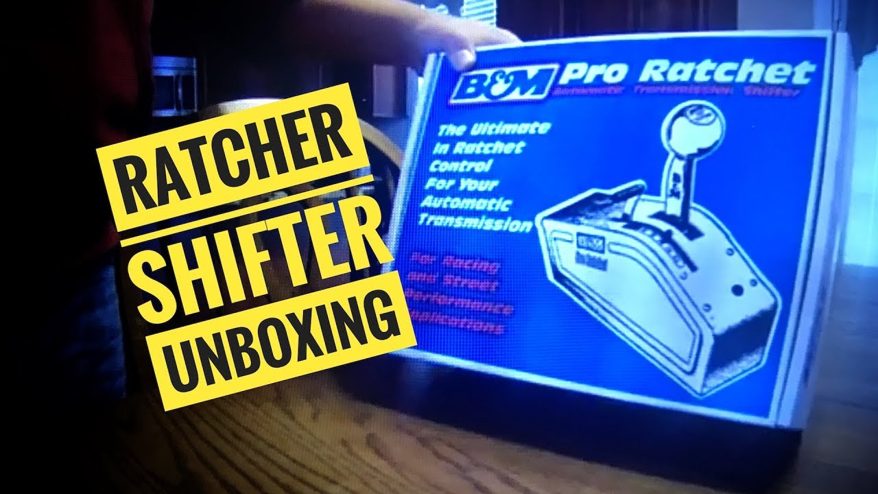 Download B&M 81120 Stealth Pro Ratchet Shifter Unboxing