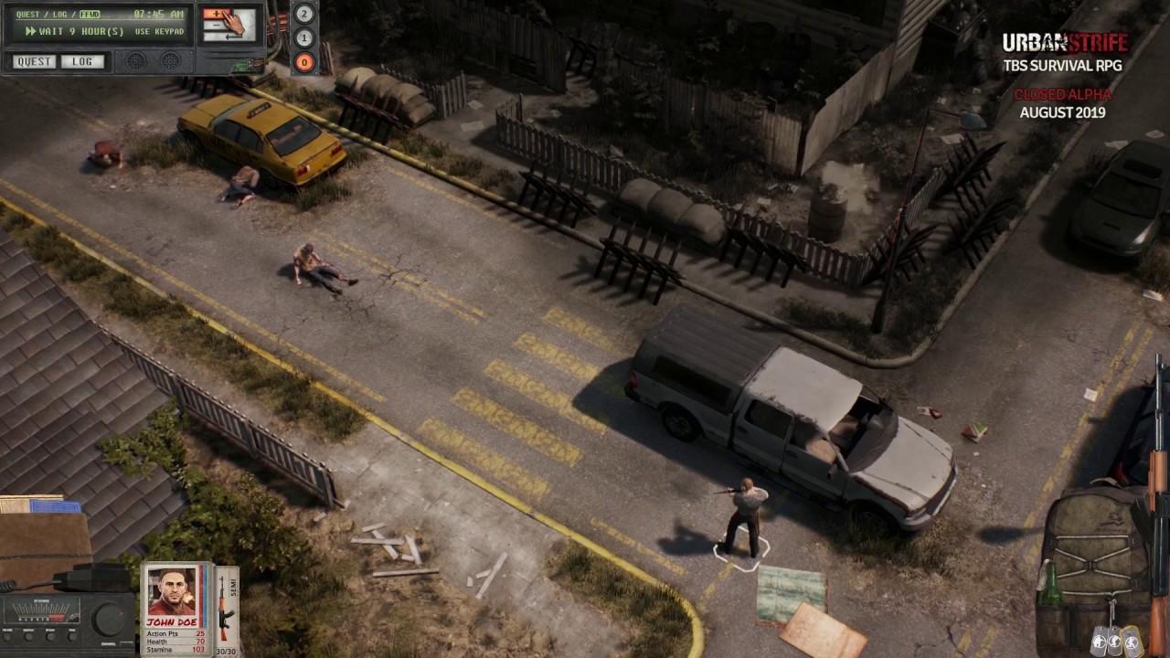 Urban Strife Turn Based Zombie Survival Rpg Page 6